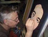 ArtKommunalka Project. Sergei Shutov working