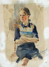 Portrait of a Girl. 1940