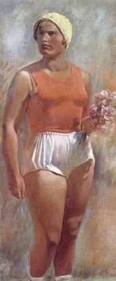 Alexander SAMOKHVALOV. Sportswoman. 1935