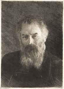 I.I. Shishkin. Self-portrait. 1886