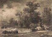 Little Oaks near Sestroretsk. 1857