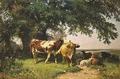 Herd under Trees. 1864