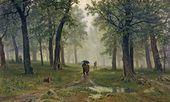 Rain in an Oak Forest. 1891