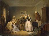 Betrothal. 1859