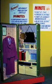 Christine HILL (USA). Accounting Portable Office. As shown at Ronald Feldman Fine Arts, NY City, 2003