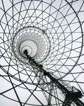 Shabolovka Radio Tower. Shabolovka Street, Moscow, Russia. Vladimir Shukhov. 1922