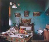 Apartment. Narkomfin Communal House. 25 Novinski Boulevard, Moscow, Russia. Moisei Ginzburg and Ignati Milinis. 1930