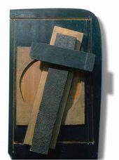 Composition with cross and circle. 1959