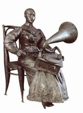 Kirill CHIZHOV. Gramophone Girl