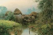 Vasily POLENOV. Old mill. 1880
