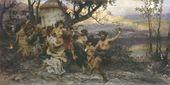 Genrikh SEMIRADSKY. Feast of Bacchus. 1890