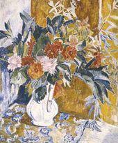Natalya GONCHAROVA. Dahlias. 1906