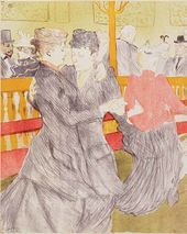 The Dance at the Moulin Rouge. 1897