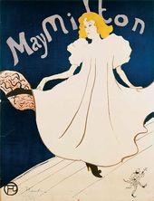 May Milton. 1895