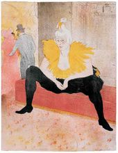 The Sitting Clowness (Mademoiselle Cha-U-Ka-O). 1896