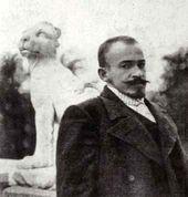 Viktor Borisov-Musatov. Photograph. 1902