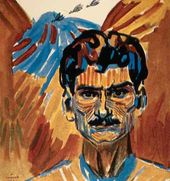 Martiros SARYAN. Self-portrait. 1909