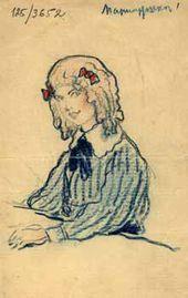 Maria Gritsenko. 1908