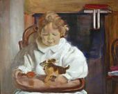 Andrey Bakst's portrait. 1908