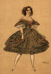 "Costume for a chorus dancer for the production of ""The Fairy Doll"" ballet"