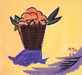 Basket with Oranges. 1960