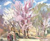 Trees in Blossom. 1939