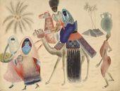 Arab Wedding. 1932