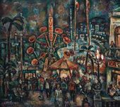 German YEGOSHIN. Festival in a Black Sea Port. 1979