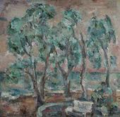 German YEGOSHIN. Olive Trees. 1979