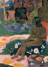 Paul GAUGUIN. Vairaumati Tei Oa (Her Name is Vairaumati). 1892