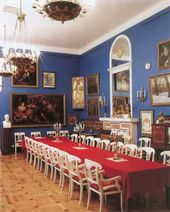 Hall for the Meetings of the Scientific Board of the Academy