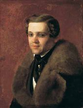 Sergei ZARYANKO. Portrait of a Man. 1840s (?)