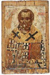 St. Nicholas. First half of the 14th century. Yaroslavl