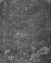Alenushka. 1880. Study