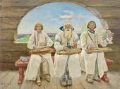 Gusli Players. 1899