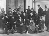 """Makovets"" group of artists. 1922"