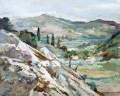 Mikhail KURILKO-RYUMIN. Landscape. Greece. 2002