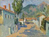 Mirel SHAGINIAN. The Village of Otuzy. 1965