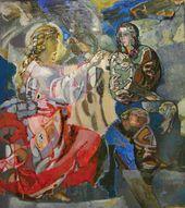 Viktor KALININ. The Annunciation. 1989–1999