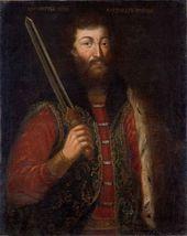Unknown artist. Alexander Nevsky. After 1724