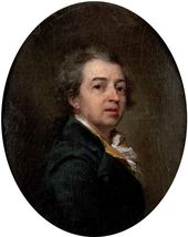 Dmitry LEVITSKY. Self-portrait. 1783