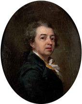 Dmitry LEVITSKY. Self-portrait. 1783