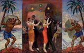 Nikolai RUSAKOV. These and Those. 1927
