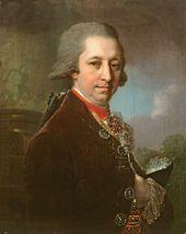 Portrait of Ivan Mikhailovich Yakovlev. 1800