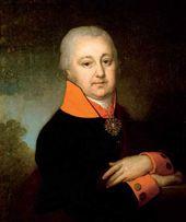 Portrait of Nikolai Mikhailovich Yakovlev. 1802