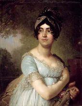 Portrait of Darya Semenovna Yakovleva. 1801