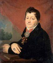 Portrait of Sergei Yakovlev. c. 1805