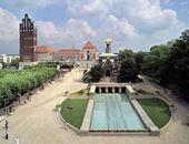 Вид на Матильденхёе, Дармштадт (фото: Николаус Гайс)