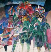 Aristarkh LENTULOV. St. Basil's Cathedral. 1913