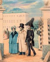 Pavel FEDOTOV. A Stroll. 1837
